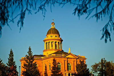 Photograph - Historic Auburn Courthouse 14 by Sherri Meyer