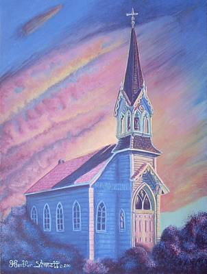 Painting - Historic Church by Heather Stinnett