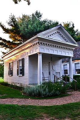 Photograph - The Old Doctor's House - Lewes Delaware by Kim Bemis