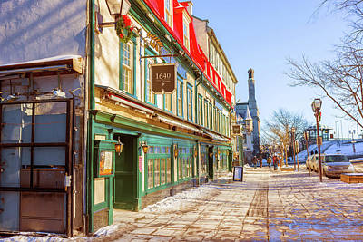 Photograph - Historic Old Quebec City, Canada  by Marek Poplawski