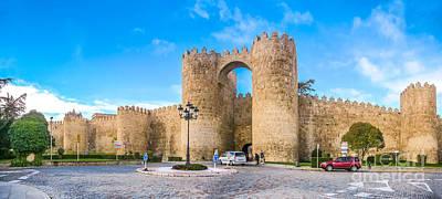 Photograph - Historic Walls Of Avila, Castilla Y Leon, Spain by JR Photography