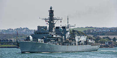 Photograph - Hms St Albans by Chris Day