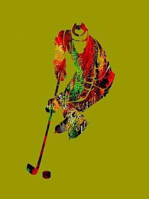 Hockey Collection Art Print
