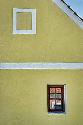 Photograph - Holasovice Facade - Czechia by Stuart Litoff