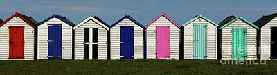 Photograph - Holiday Beach Huts by Tom Conway