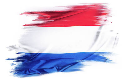 Photograph - Holland Flag by Les Cunliffe