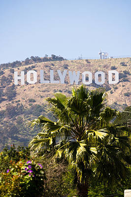Monica Photograph - Hollywood Sign Photo by Paul Velgos