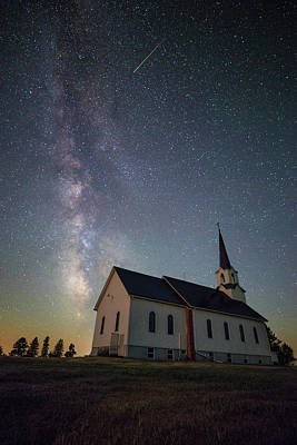 Old School House Photograph - Holy  by Aaron J Groen