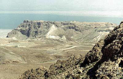 Photograph - Holy Land: Masada by Granger