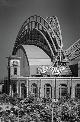 Photograph - Home Of The Milwaukee Brewers by Susan McMenamin