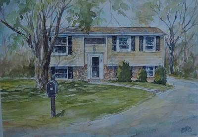 Painting - Home Portrait by Gloria Turner