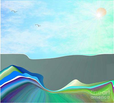 Digital Art - Homeland by Iris Gelbart