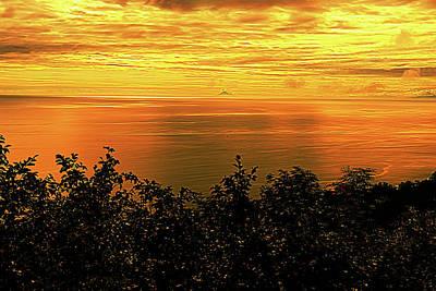 Photograph - Homer Alaska Sunset by Norman Hall