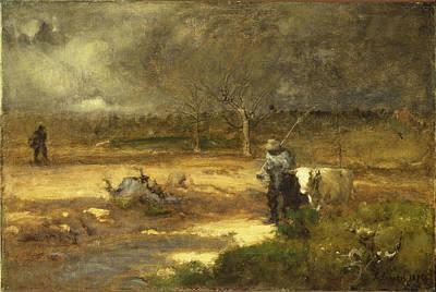 Painting - Homeward by George Inness