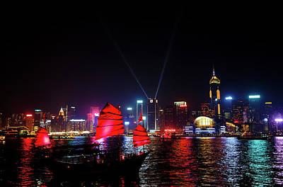 Photograph - Hong Kong by David Harding