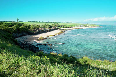 Royalty-Free and Rights-Managed Images - Hookipa Beach Sunrise Maui Hawaii by Sharon Mau