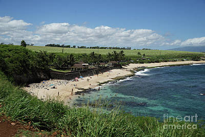 Photograph - Ho'okipa Beach View From Ho'okipa Beach Park Hana Maui by Peter Dang