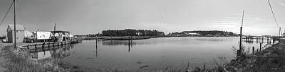 Photograph - Hoopers Island Honga River - Pano by Brian Wallace