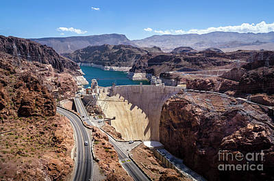 Photograph - Hoover Dam by RicardMN Photography