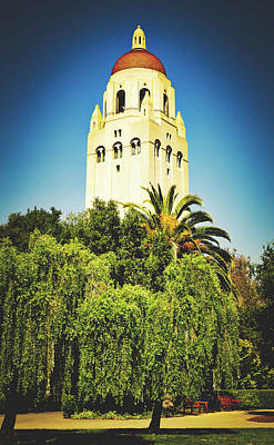 Photograph - Hoover Tower - Stanford University by Library Of Congress