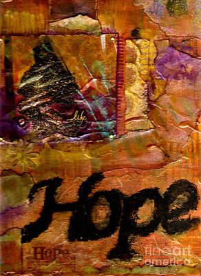 Mixed Media - Hope by Angela L Walker