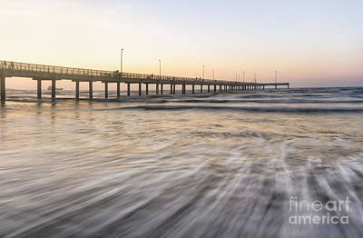 Photograph - Horace Caldwell Pier Port Aransas Texas by Ronda Kimbrow