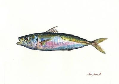 Horse Mackerel  Art Print