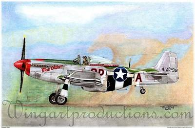 P51 Drawing - Horses Wild by Trenton Hill