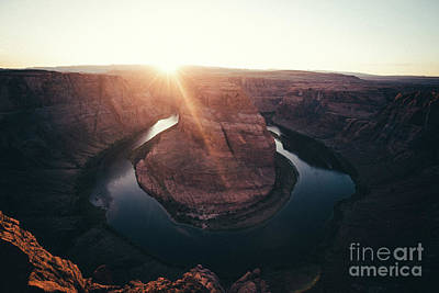 Photograph - Horseshoe Bend Sunset by JR Photography