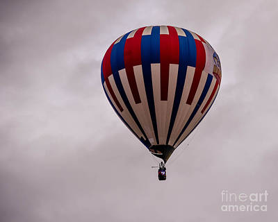 Photograph - Hot Air Balloon by Grace Grogan