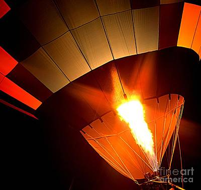 Photograph - Hot Air Balloon by Janice Spivey