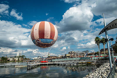 Photograph - Hot Air Balloon by Louis Ferreira