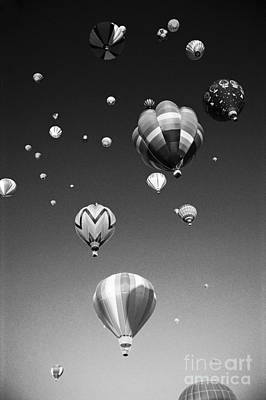 Hot Air Balloons Art Print by Michael Howell - Printscapes