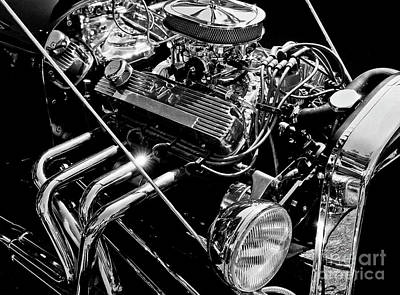 Photograph - Hot Rod 1 by Tom Griffithe