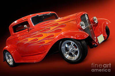 Hot Rod Ford Coupe 1932 Art Print