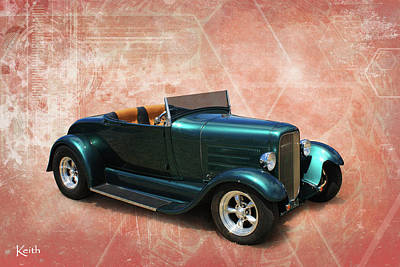 Photograph - Hot Rod by Keith Hawley