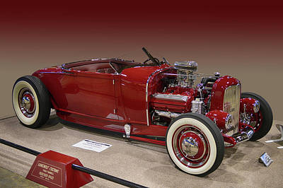 Photograph - Hot Rod Lincoln by Bill Dutting