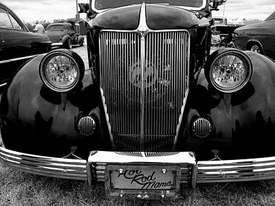 Photograph - Hot Rod Mama Grill by Michiale Schneider