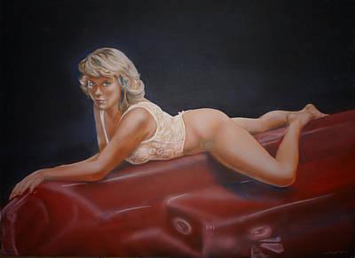 Hot Tub Art Print by Bryan Bustard