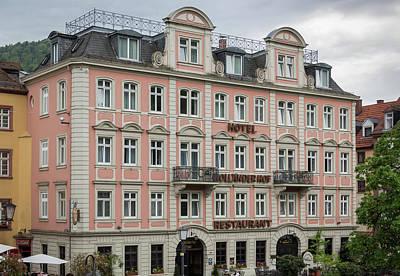 Photograph - Hotel Hollander Hof Heidelberg by Teresa Mucha