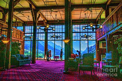 Photograph - Hotel Lobby by Rick Bragan