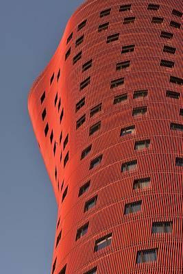 Hotel Porta Fira Barcelona Abstract Art Print