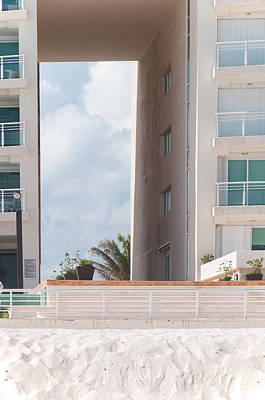 Photograph - Hotel Zone Cancun by Carol Ailles