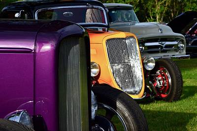 Photograph - Hotrods by Dean Ferreira