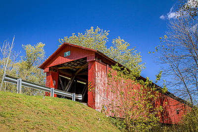 Photograph - Houck Covered Bridge by Jack R Perry