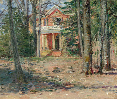 Painting - House In Virginia. Castle Hill by Theodore Robinson
