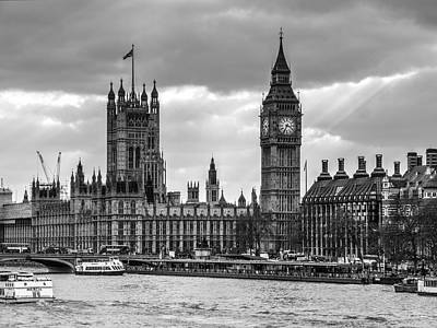 Photograph - Houses Of Parliament by Chris Day