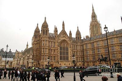 Photograph - Houses Of Parliament In London by David Fowler