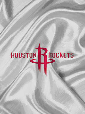 Houston Rockets Print by Afterdarkness