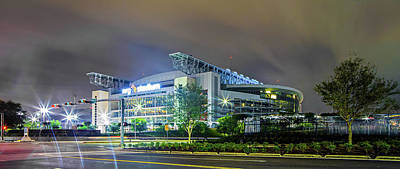 Photograph - Houston Texas Nrg Football Stadium by Alex Grichenko